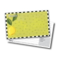 4x6 Recipe Cards and Protectors - Lemons