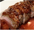 Smoked Pork Tenderloin with Ginger Molasses Barbecue Sauce