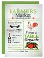 Flour Sack Towels - Famers Market - set of 2