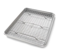 Jelly Roll Pan Set with Rack by USA Pan