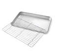 Quarter Sheet Pan Set with Rack by USA Pan
