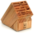 25 slot Beechwood Knife Block