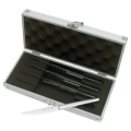 Stainless 4 piece Steak Knife Set in Aluminum Box