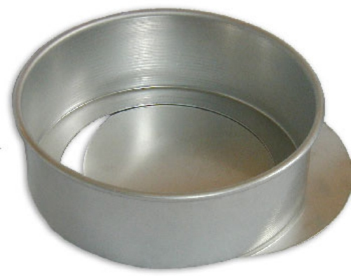 Round Cake Pan With Removable Bottom 6 X 2