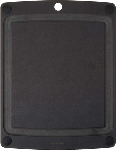 Epicurean All-in-One Slate Gray Cutting Board with Juice Groove 20 x 15