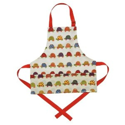 Child Size Laminated Apron - Tiny Tortoise