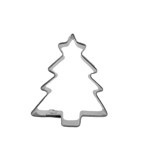 Christmas Tree Cookie Cutter with Star - Mini