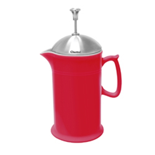 Chantal Ceramic French Press - Red