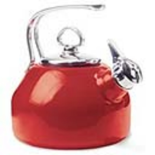 Chantal Tea Kettle in Chili Red