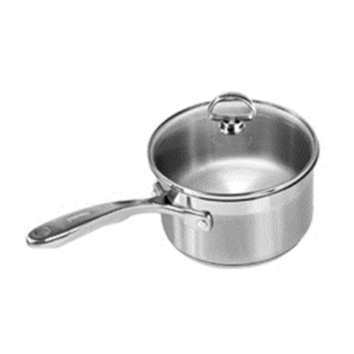 Chantal 2 quart Induction 21 Steel Sauce Pan with Lid