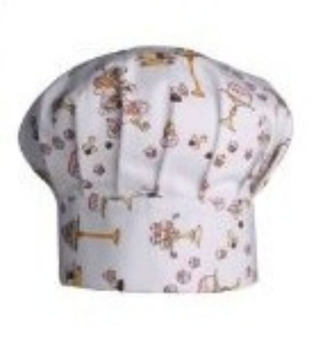 Child Size Chef Hat - Cakes