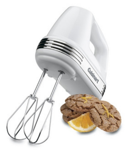 5-Speed Hand Mixer White
