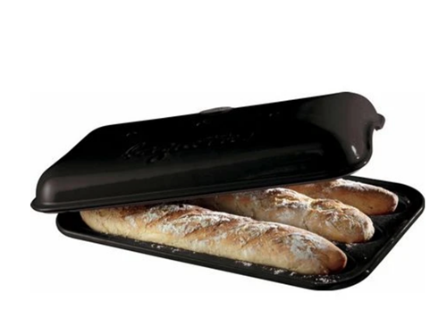 Charcoal Baguette Baker by Emile Henry - not available for shipping
