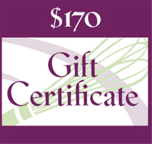 $170 Gift Certificate