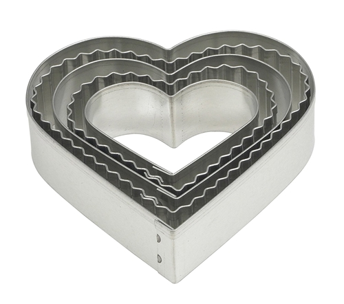 Cookie Cutter Set Hearts