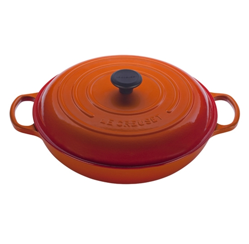 Flame 5 quart Braiser Signature