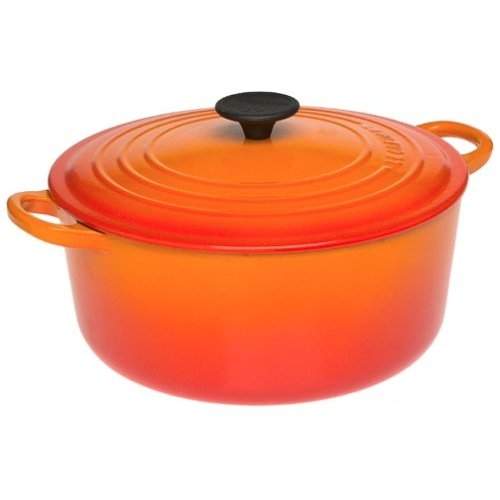 Flame 5.5 quart Round Dutch Oven