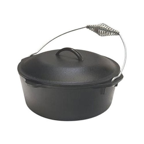 Lodge Cast Iron Dutch Oven 7 Quart with Spiral Handle