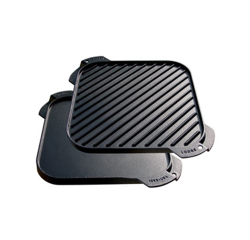 Lodge Cast Iron Grill and Griddle Reversible Single
