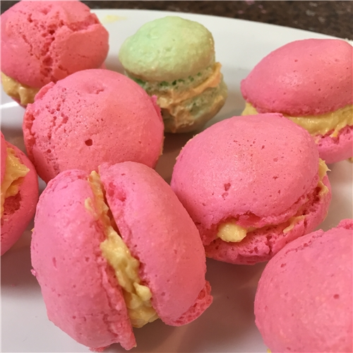 French Macarons with a Duo of Fillings