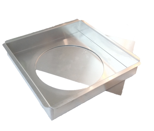 Square Cake Pan with Removable Bottom - 12 x 12 x 2