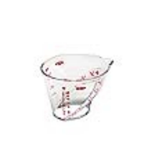 Angled Measuring Cup Mini 1/4 Cup