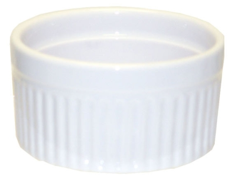 Souffle Cup - White 6 ounces