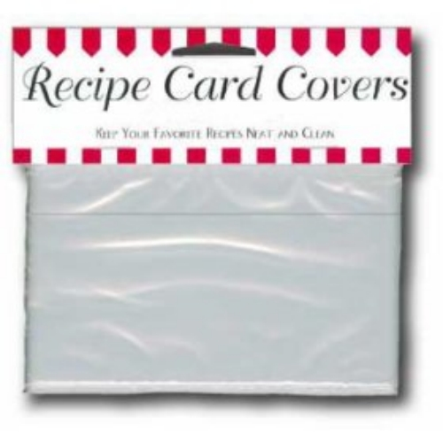4x6 Recipe Card Protectors - Pack of 24