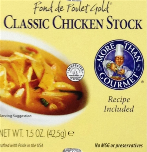 Chicken Stock - Fond de Poulet 1.5 ounces