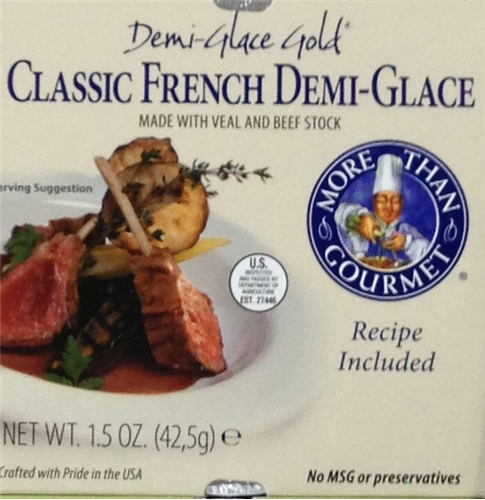 Veal and Beef Stock - Demi-Glace Gold 1.5 ounces