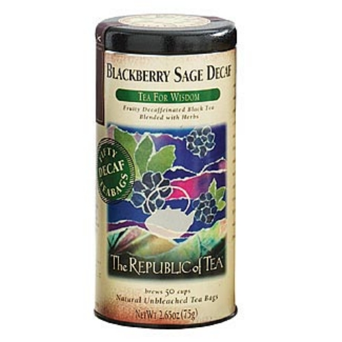 Blackberry Sage Decaf Black Tea Bags
