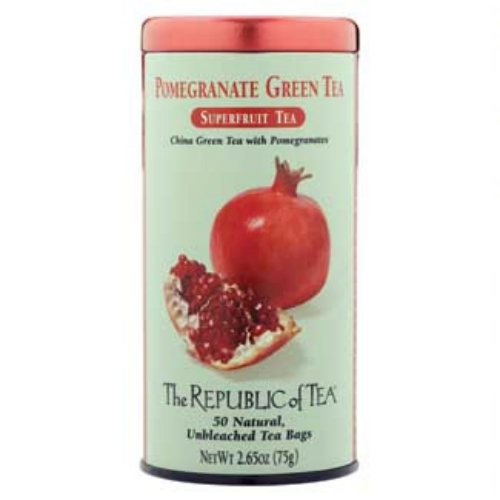 Pomegranate Superfruit Green Tea Bags