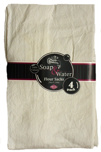 Flour Sack Towels - Set of 4