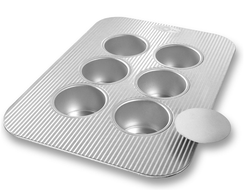 Mini Cheesecake Pan with Removable Bottoms by USA Pan